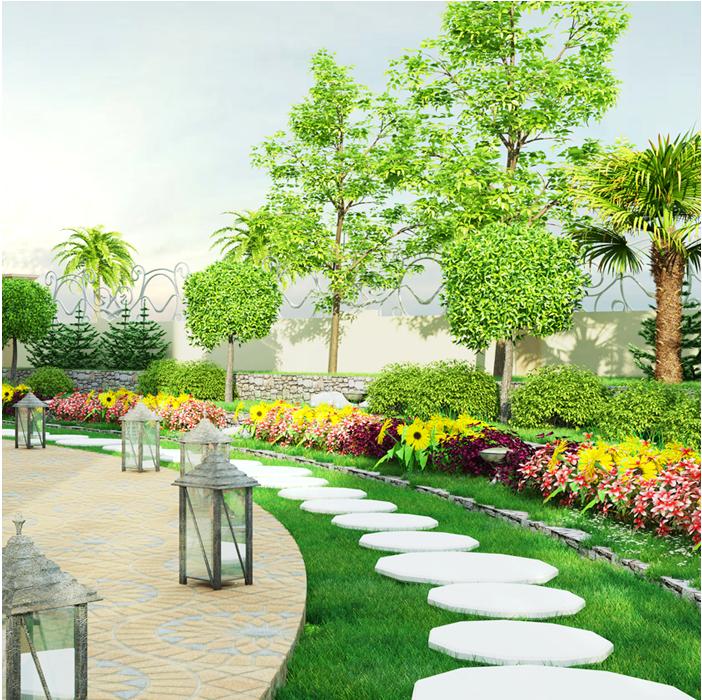 Landscape Design Services Abu Dhabi UAE | Future Makers